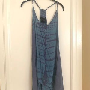 Blue Life Tie dye dress